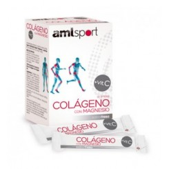 AMLSPORT COLAGENO CON MAGNESIO 20 STICKS