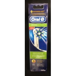 ORAL-B CROSSACTION  RECAMBIOS CEPILLO 3 UNIDADES