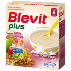 BLEVIT PLUS MULTICEREAL FRUTOS SECOS MIEL 700 G