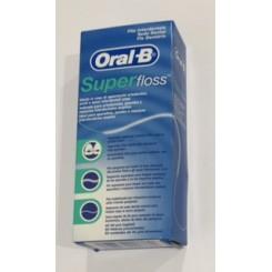 ORAL-B SUPERFLOSS BOLSA 50 UNIDADES