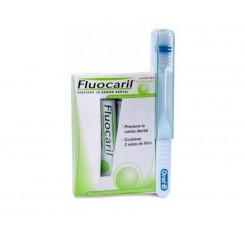 Fluocaril cepillo de viaje de adulto