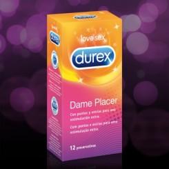 DUREX DAME PLACER (PLEASUREMAX) 12 U