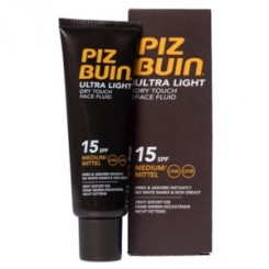 PIZ BUIN FPS -15 ULTRA LIGHT CREMA FACIAL 50 ML