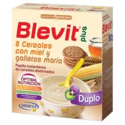 Blevit plus Duplo 8 Cereales miel galletas maría 800 g
