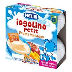 NESTLE IOGOLINO FRUT VARIAD+ QUESO FRESC 4 X100