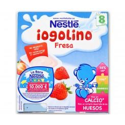 NESTLE IOGOLINO FRESA 4 X 100 G