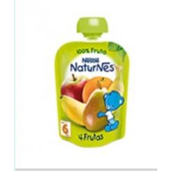 NESTLE NATURNES 4 FRUTAS 100% FRUTA  90 G