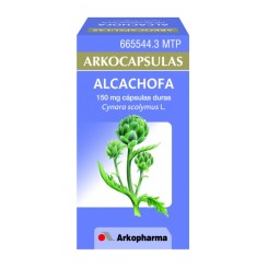 ARKOCAPSULAS ALCACHOFA 150 MG 50 CAPSULAS