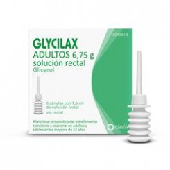 GLYCILAX ADULTOS 5.4 ML SOLUCION RECTAL 6 ENEMAS