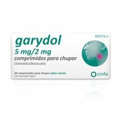 GARYDOL 20 COMPRIMIDOS