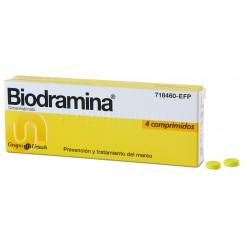 BIODRAMINA 4 COMPRIMIDOS 50 MG