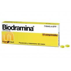 BIODRAMINA 12 COMPRIMIDOS 50 MG