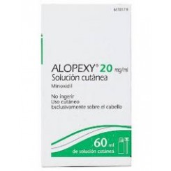 ALOPEXY 2% SOLUCION CUTANEA 60 ML