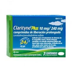 CLARITYNE PLUS 10/240 MG 10 COMPRIMIDOS LIB PROL