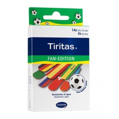 TIRITAS PLASTIC BRAZIL APOSITO ADHESIVO 20 U 2 T