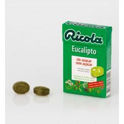 RICOLA CARAMELOS S/A EUCALIPTO 50G