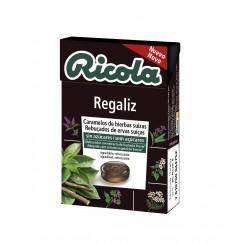 RICOLA CARAMELOS S/A REGALIZ 50 G
