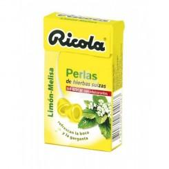 RICOLA PERLAS S/A LIMON-MELISA 25G