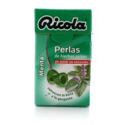 RICOLA PERLAS S/A MENTA 25G
