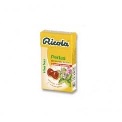 RICOLA PERLAS S/A HIERBAS 25G