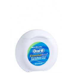 ORAL-B ESSENTIAL FLOSS CERA/MENTA 50 MTS