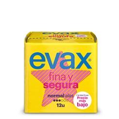 EVAX FINA Y SEGURA NORMAL CON ALAS   12 UNID.