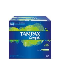 TAMPONES TAMPAX COMPAK SUPER 20 UNID