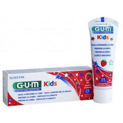 GUM KIDS GEL DENTAL FRESA 50 ML DE 2 - 6 AÑOS