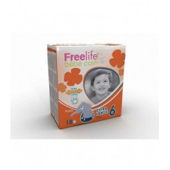 FREELIFE BEBE CASH EXT. LARGE 18 UNID. T/6 +17KG