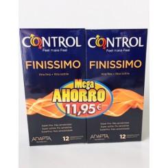 CONTROL FINISSIMO PACK AHORRO 12+12 UNID.