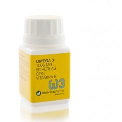 OMEGA 3 1000 mg 50 perlas con Vitamina E BotanicaPharma