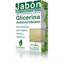SANASUR JABON GLICERINA Y ANTIMICROBIANO 100 G