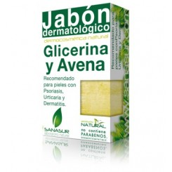 SANASUR JABON GLICERINA Y AVENA  100 G