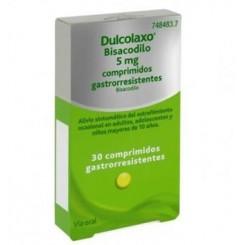 DULCOLAXO BISACODILO 5 MG 30 COMPRIMIDOS GASTROR