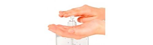 Mascarillas y Gel hidroalcoholico manos
