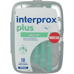 CEPILLO DENTAL INTERPROX PLUS MICRO 10U