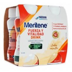MERITENE DRINK VAINILLA 4 X125ML