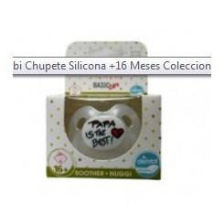 BIBI CHUPETE SILICONA MAMA / PAPA  +16 MESES