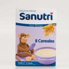 SANUTRI 8 CEREALES 600 G.