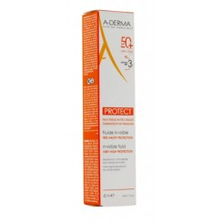 ADERMA PROTECT FLUIDO SOLAR SPF 50+ 40 ML