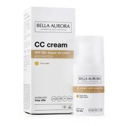 BELLA AURORA CC CREAM SPF50 TONO CLARO
