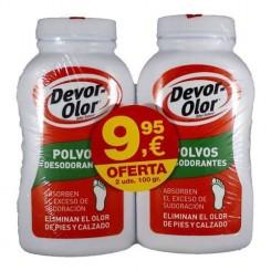 Devor Olor Polvos pack duplo
