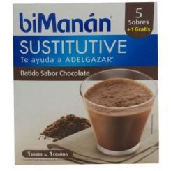 BIMANAN BATIDO CHOCOLATE 1 SOBRE