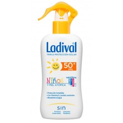 LADIVAL NIÑOS FPS 50+  200 ML SPRAY  P. ATOPICA