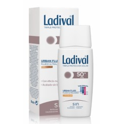 LADIVAL URBAN FLUID CON COLOR FPS 50+ 50 ML