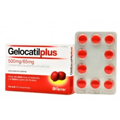 GELOCATIL PLUS 500/65 MG 20 COMPRIMIDOS RECUBIER