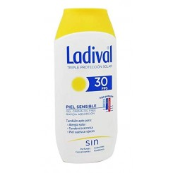LADIVAL SOLAR PIEL SENSIBLE O ALERGICA +30 200ML