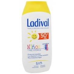 LADIVAL SOLAR +50 NIÑOS Y PIEL ATOPICAS 200ML