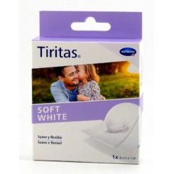 TIRITAS HARTMANN SOFT WHITE 8CM X 1M