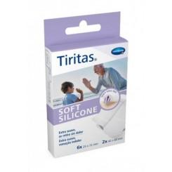TIRITAS SOFT SILICONE APOSITO ADHESIVO 8U